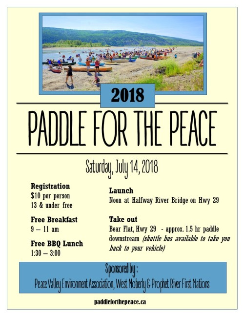 2018 Paddle Poster